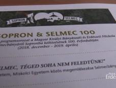 """Életképek – 2 – """"Selmec, Téged soha nem feledtünk!"""" – SOPRON – SELMEC – 2018 – 1918 – Visszatérés Selmecbányára – 2018.12.07-08"""