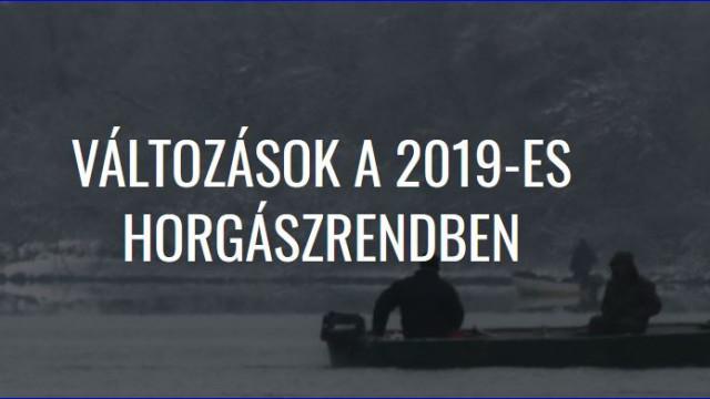 Tisza-Tó – Változások a 2019-es horgászrendben – 2019. január 05