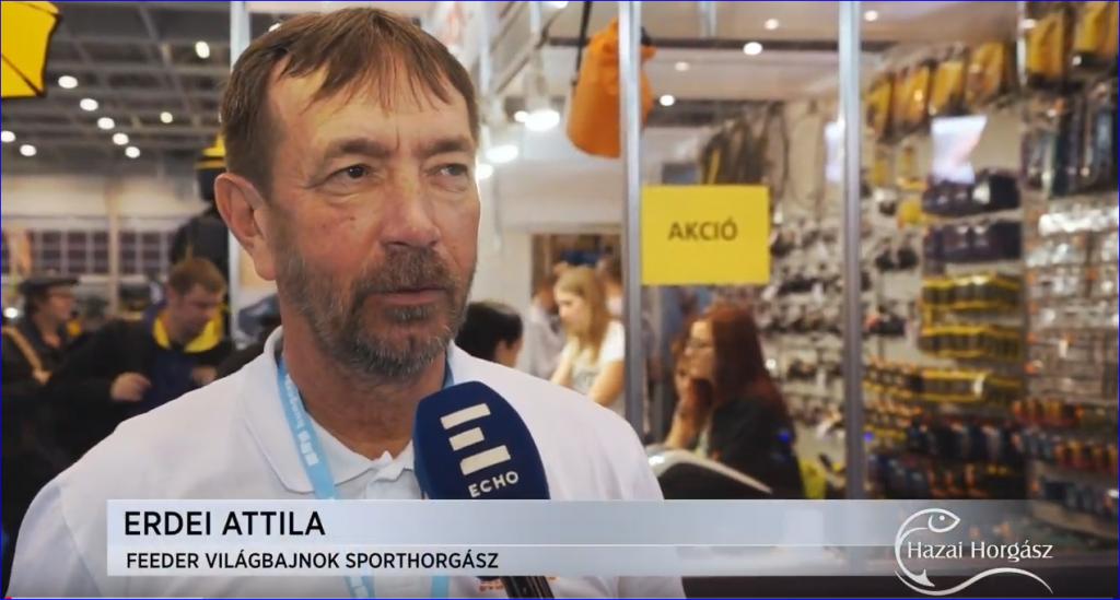 Interjú Erdei Attila feeder világbajnokkal a 26. FEHOVA-n – 2019.02.08.