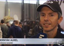 Interjú Hernyák Aurél horgász szakíróval a 26. FEHOVA-n – 2019.02.08.