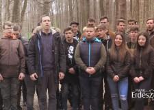 """""""Határtalanul!"""" – erdélyi és soproni diákok közös munka akciója a soproni Ojtozi sétányon – 259. – 2019.03.23-i adás"""