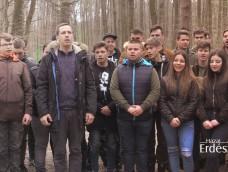 Erdélyi és soproni diákok tették szebbé az Ojtozi sétányt, amely Sopron egyik közkedvelt kirándulóhelye! – 2019.03.12.
