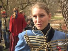 Interjú Varjú Anna közhuszárral a KEFAG Zrt. Március 15-i rendezvényén – 2019.03.15.