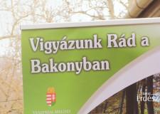 Vigyázunk Rád a Bakonyban! c. kiadvány bemutatója a Bakonyerdő Zrt.-nél – 2019.04.05.