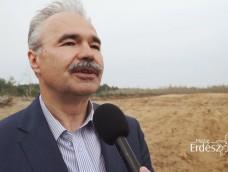 Szürkenyár csemeték ültetése a KEFAG Zrt.-nél – Dr. Nagy István agrárminiszter – 2019.04.10.