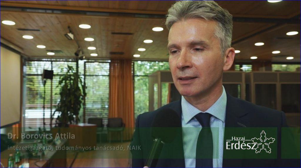 Szeminárium a Szombathelyi Erdészeti Zrt.-nél – Dr. Borovics Attila – 2019.05.13.