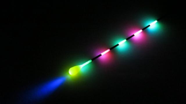 """Teszt: YAD – Világító, lítium LED-es waggler úszó – """"Te vagy a fény az éjszakában…"""" – P.Mobil"""